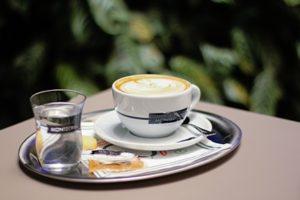 Cappuccino z kávy MOntecelio